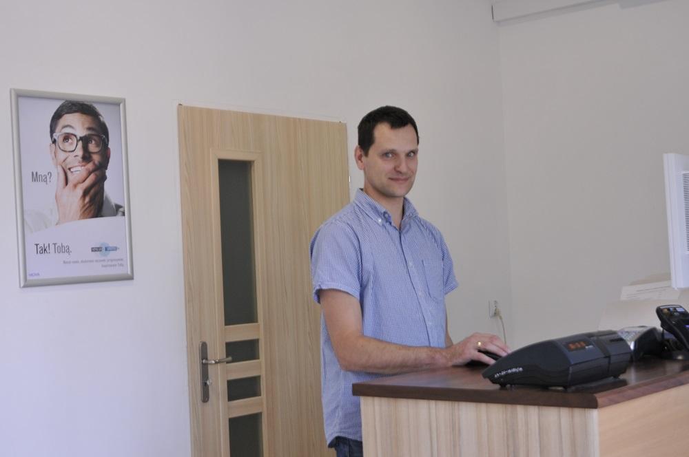 Dla mnie praca optyka to rzemiosło - Mateusz Błachowicz, Centrum Optyczne
