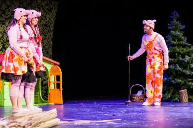 Świnki 3 - Pepa, Mela, Kwi. MCK zaprasza na spektakl muzyczny dla dzieci