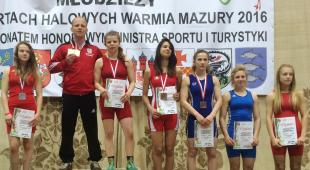 Trzy medale zawodniczek Slavii podczas Ogólnopolskiej Olimpiady Młodzieży