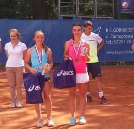 Trzecie miejsce Karoliny Bartusek na Mistrzostwach Polski w tenisie