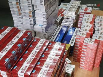 Przejęli 50 tys. nielegalnych papierosów