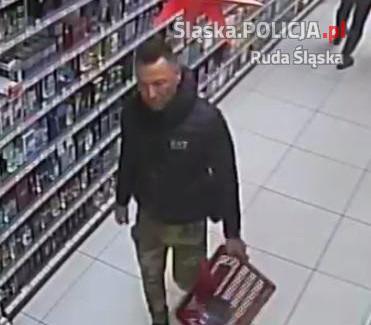 Publikujemy wizerunek podejrzanego o kradzież