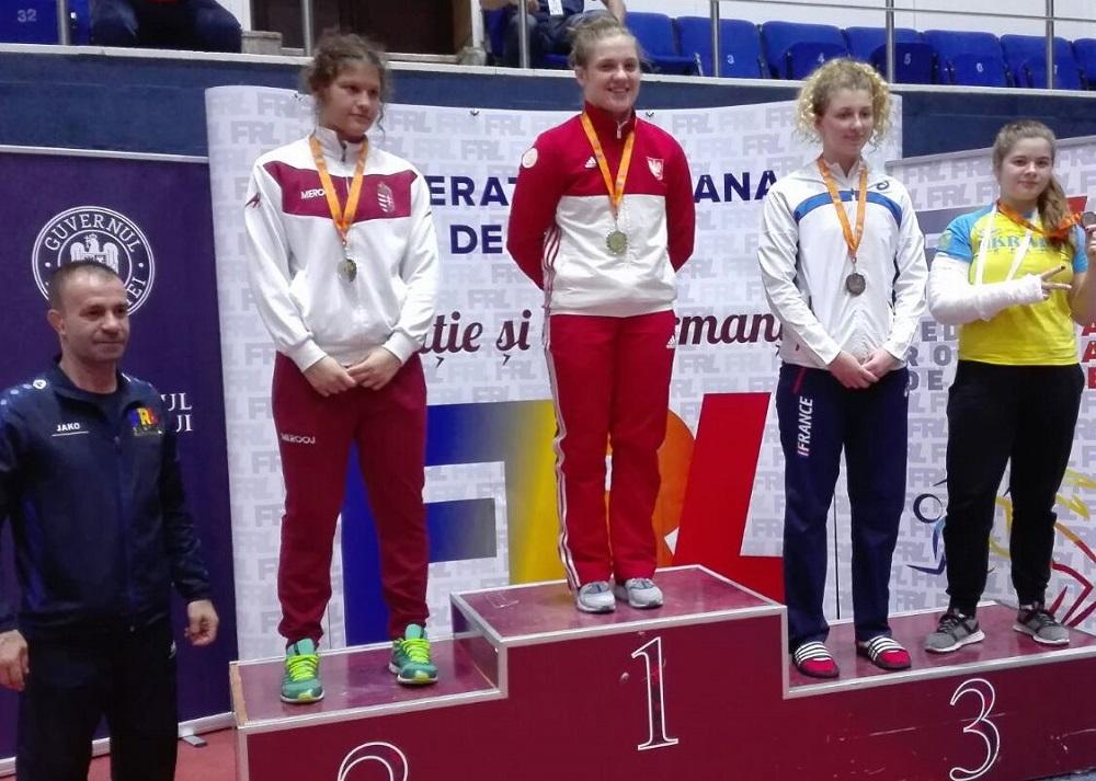 Natalia Strzałka pierwsza w Rumunii!
