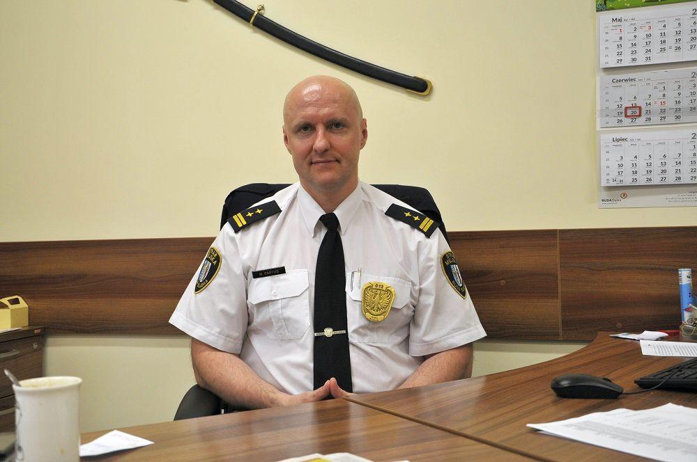 To satysfakcjonująca praca - Komendant Straży Miejskiej, Marek Partuś