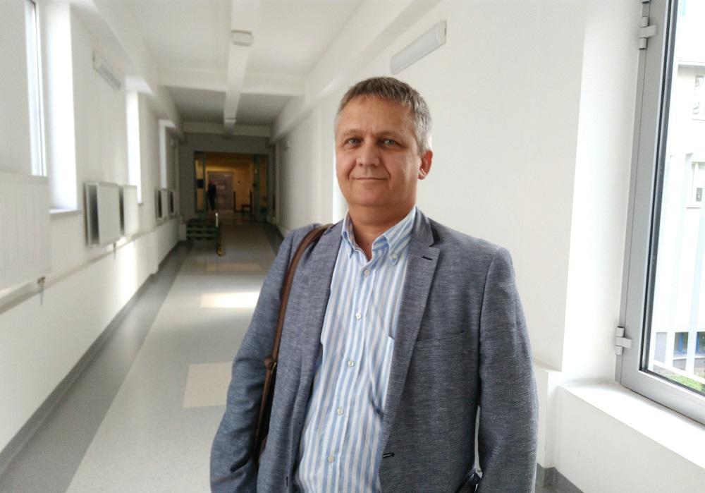 Chcę stworzyć oddział przyjazny dziecku - Robert Szylo, ordynator Pediatrii