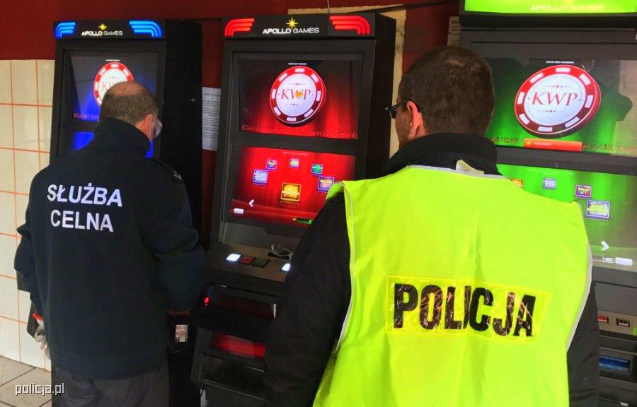 Zabezpieczyli nielegalne automaty do gier