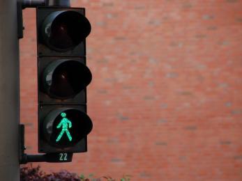 """Dziś działania """"kontrola drogowa pieszy"""""""