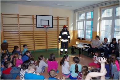 """""""Czad i ogień. Obudź czujność"""" - zajęcia w rudzkich szkołach"""