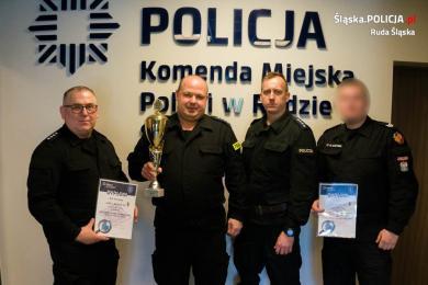 """Drudzy w konkursie """"Policjant służby kryminalnej"""""""