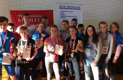 Medale młodziczek i młodzików Slavii