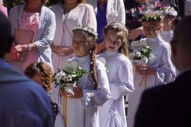 Przyjęli sakrament Pierwszej Komunii Świętej