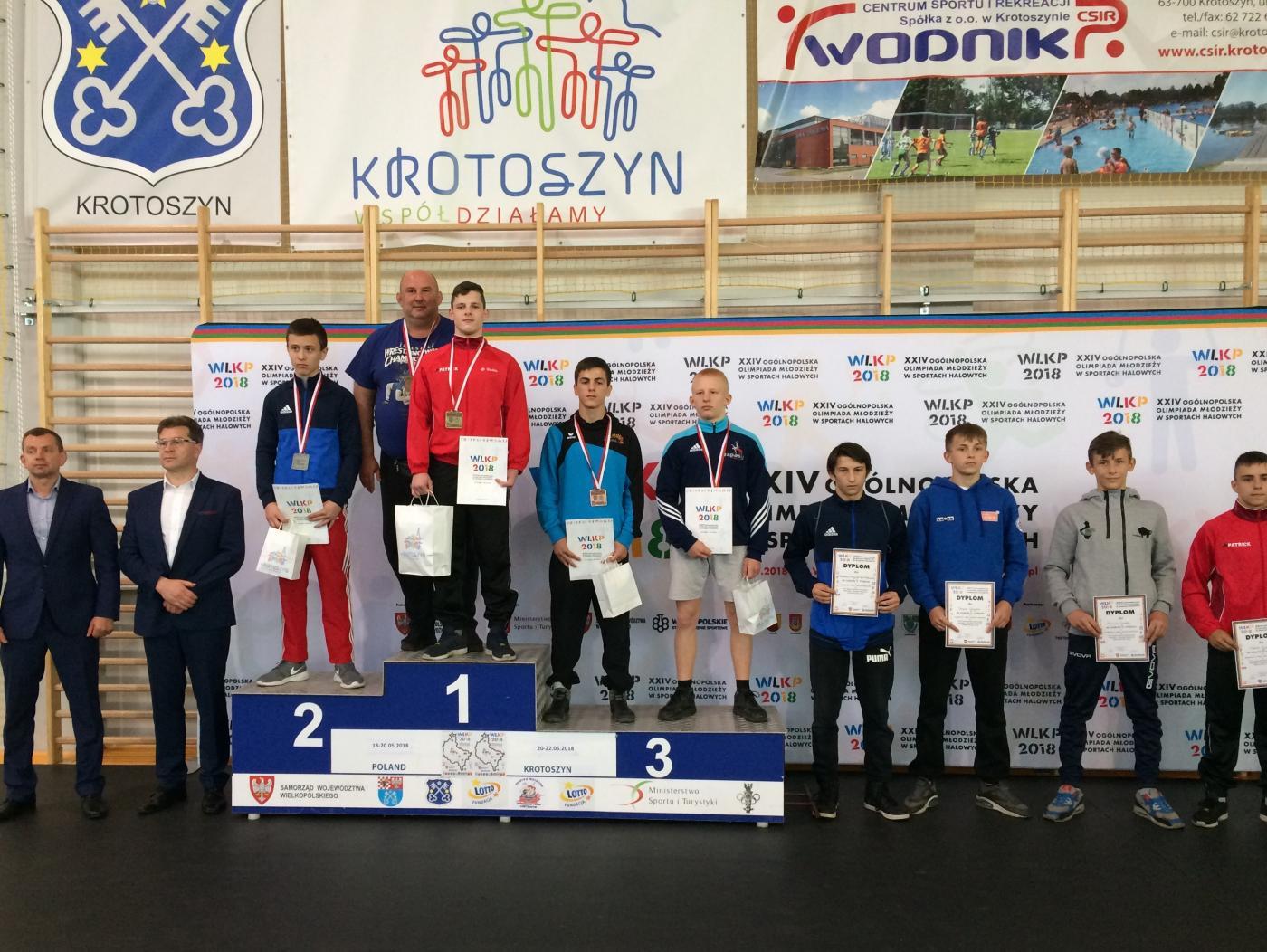 Klaudiusz Wiezner złotym medalistą!