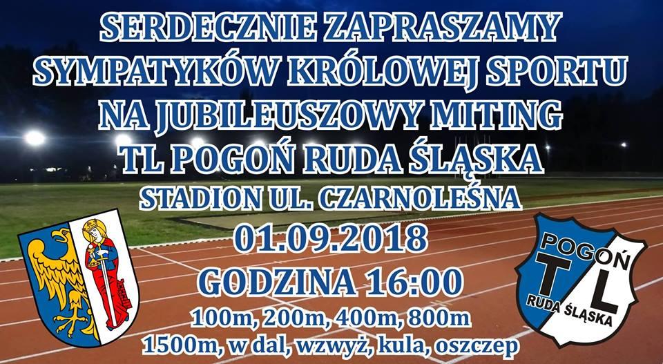 "Miting Jubileuszowy TL ""Pogoń"" Ruda Śląska"