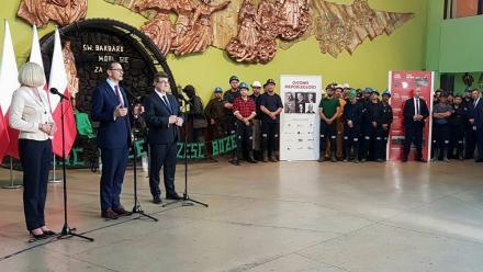 Premier Mateusz Morawiecki odwiedził dziś KWK Bielszowice