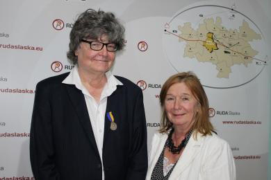 Joanna Helander Honorową Obywatelką