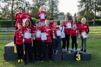 Zawodnicy Grot-u w Jesiennym Młodzieżowym Turnieju Lajkonika