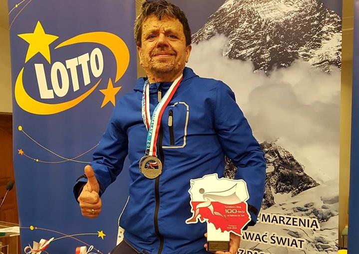Sukces Krzysztofa Koźlickiego podczas Supermaratonu Stulecia