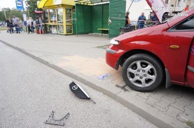 Policja szuka świadków wypadku przy ul. Czarnoleśnej