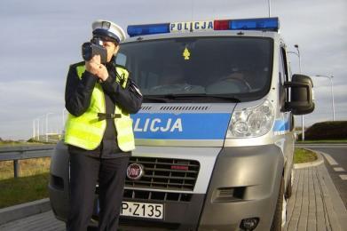 """Policjanci prowadzą dziś działania """"Kaskadowy pomiar prędkości"""""""