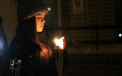 Światełko Jedności - mieszkańcy wyrazili swój sprzeciw wobec nienawiści i agresji