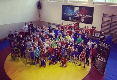 Mistrzostwa Śląska Dzieci i Puchar Śląska Kadetów w zapasach za nami