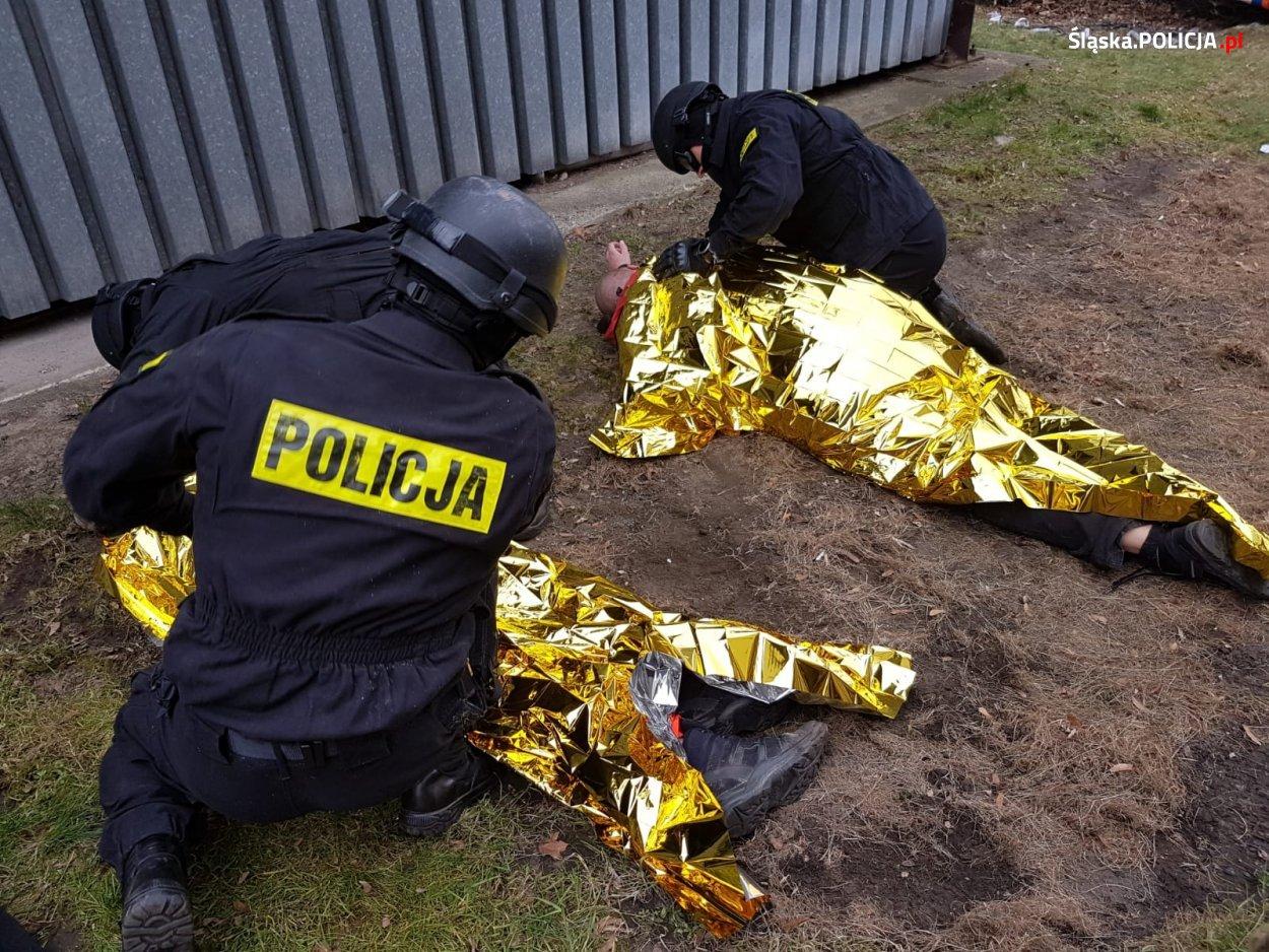Policjanci szkolili umiejętności w zakresie kwalifikowanej pierwszej pomocy