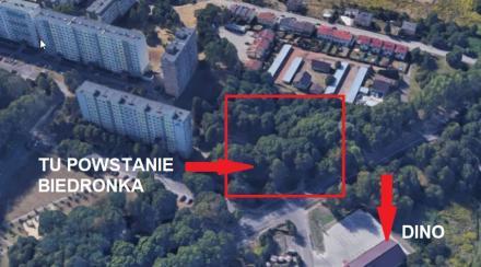 Wirek: przy osiedlu Paderewskiego powstanie kolejny supermarket. Mieszkańcy protestują