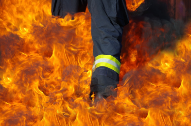 W Rudzie doszło do tragicznego pożaru. Jedna osoba nie żyje