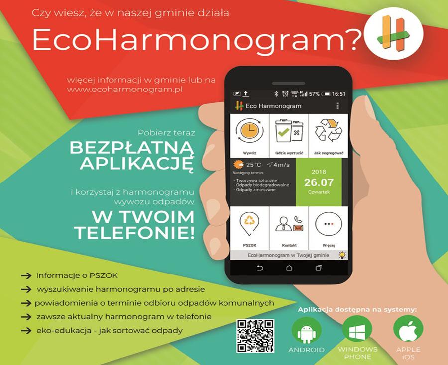 Bezpłatna usługa EcoHarmonogram dla mieszkańców Rudy Śląskiej
