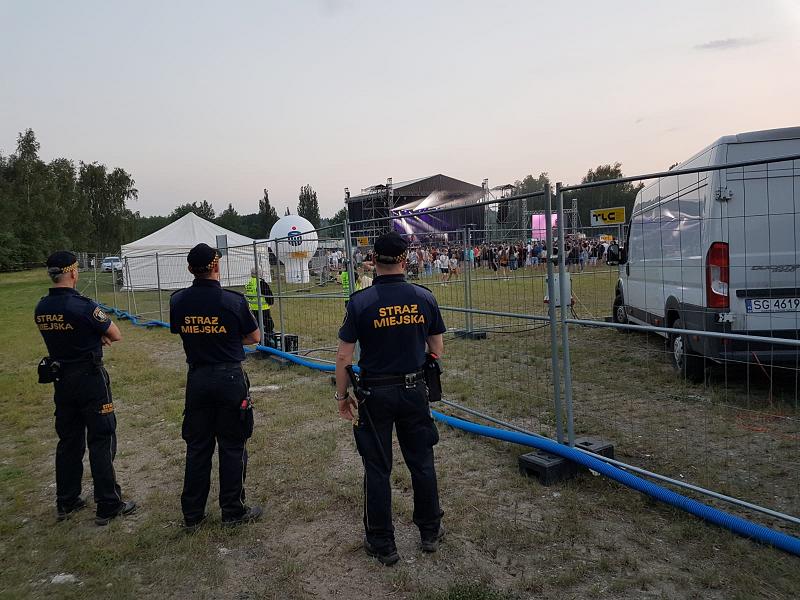Strażnicy miejscy podsumowują tegoroczne Dni Rudy Śląskiej i Industriadę