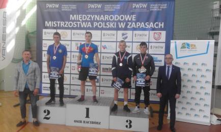 M/N Mistrzostwa Polski Kadetów w zapasach w stylu klasycznym