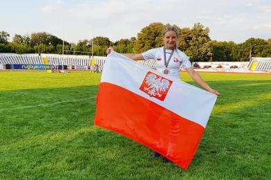 Angelika Piekorz z KS Rugby Ruda Śląska wystąpiła