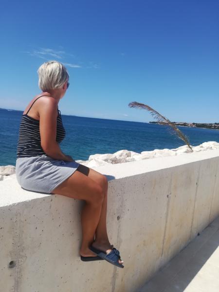 Pocztówka z wakacji w Chorwacji sierpień 2019