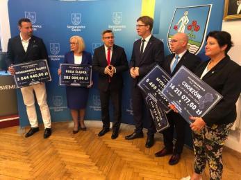 Ruda Śląska otrzymała 380 tys. zł z Funduszu Dróg Samorządowych. Dlaczego tylko tyle?