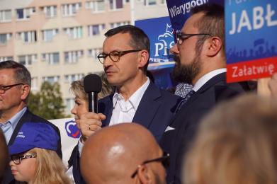 Premier Mateusz Morawiecki spotkał się z mieszkańcami Rudy Śląskiej!
