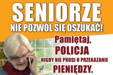 Wzięła kredyt i przekazała fałszywemu policjantowi pieniądze. 74-latka straciła 17 tysięcy