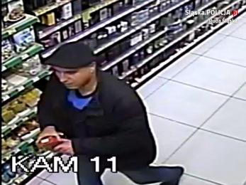 Podejrzany o kradzież w sklepie drogeryjnym. Rozpoznajesz tego mężczyznę?