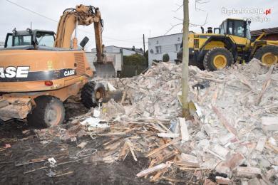 Ruda Śląska: W trakcie rozbiórki domu znaleźli stary pistolet