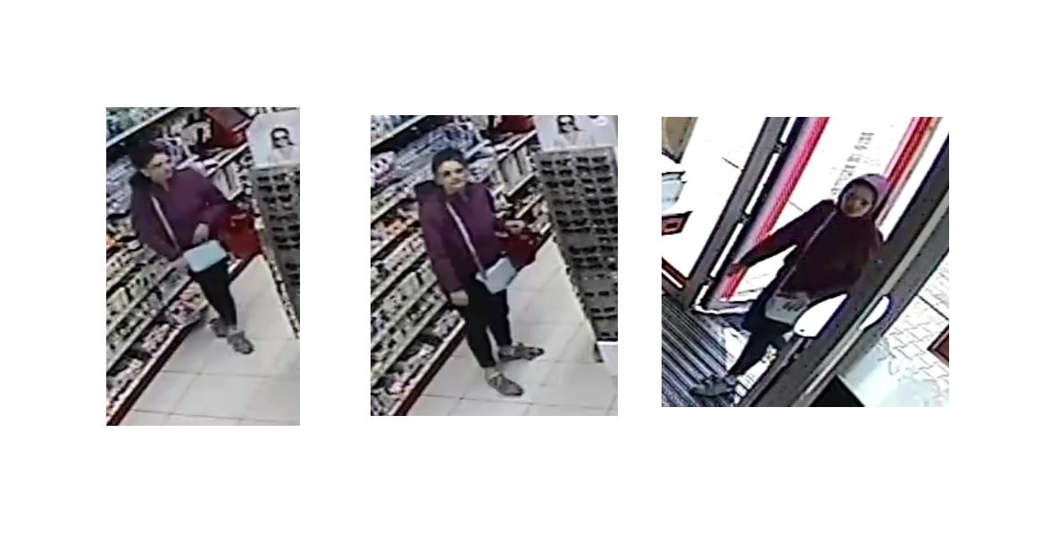 Wizerunek sprawcy kradzieży w drogerii. Rozpoznajesz sprawcę?