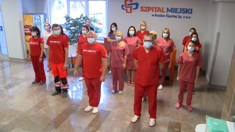 """#GaszynChallenge. Pracownicy Szpitala Miejskiego w Goduli """"pompowali"""" dla Bartusia!"""