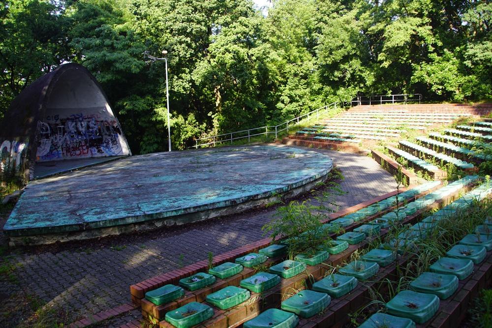 W przyszłym roku planowana jest rozbiórka muszli koncertowej w Parku Strzelnica