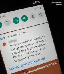 Uwaga na SMS-y o koniecznej dopłacie do przesyłki. Takie wiadomości to oszustwo!