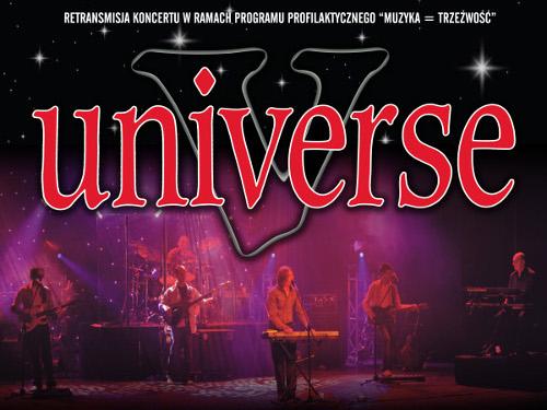 MCK zaprasza na koncert zespołu Universe