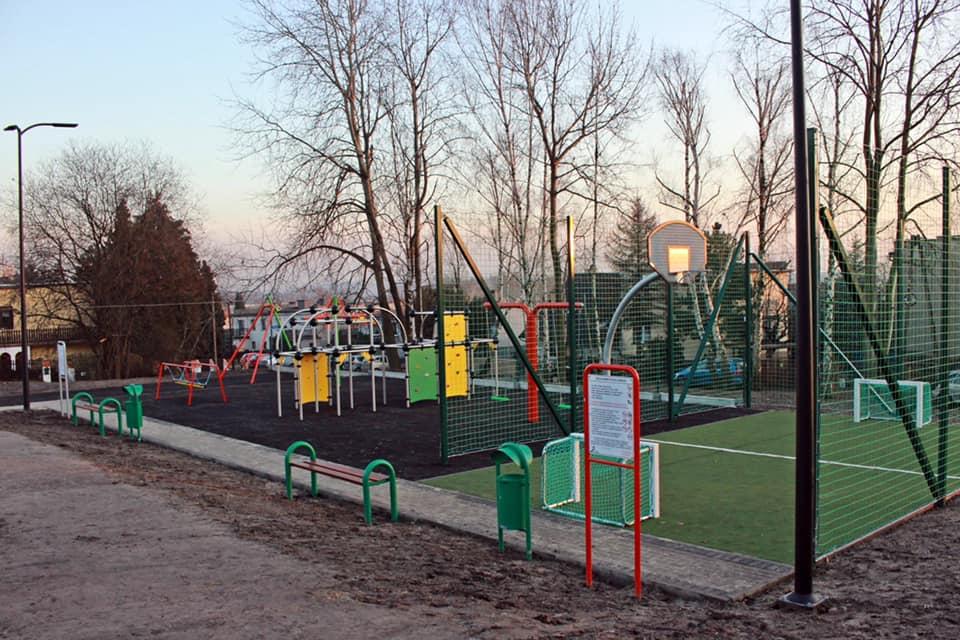 W Bielszowicach w ramach Budżetu Obywatelskiego powstał nowy plac zabaw