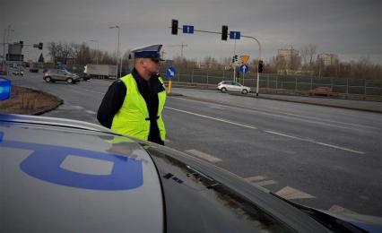 """""""Bezpieczne skrzyżowania"""" - dziś akcja rudzkiej drogówki!"""