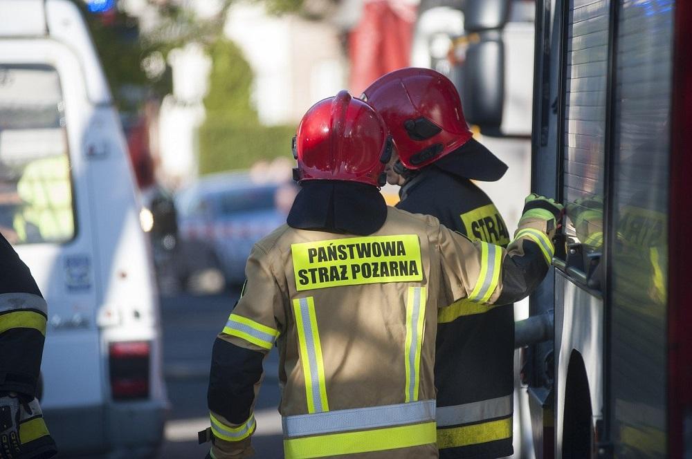 Pracownicy wyczuli woń gazu w szkole. Interweniowała Straż Pożarna i Pogotowie Gazowe
