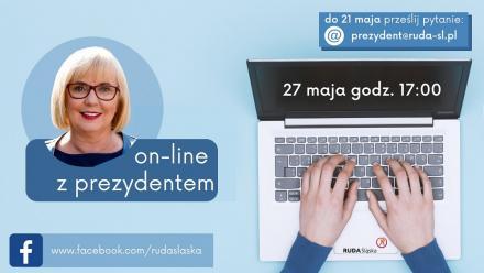 Najbliższe spotkanie on-line z władzami Rudy Śląskiej odbędzie się 27 maja!