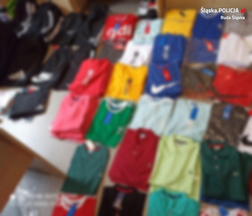 Obywatel Bułgarii sprzedawał na targu podróbki odzieży i butów