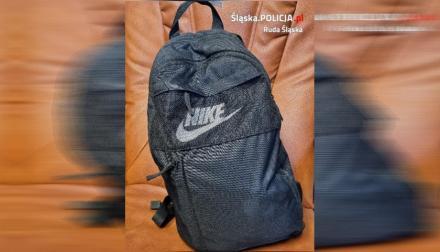 Poszukiwany właściciel plecaka Nike