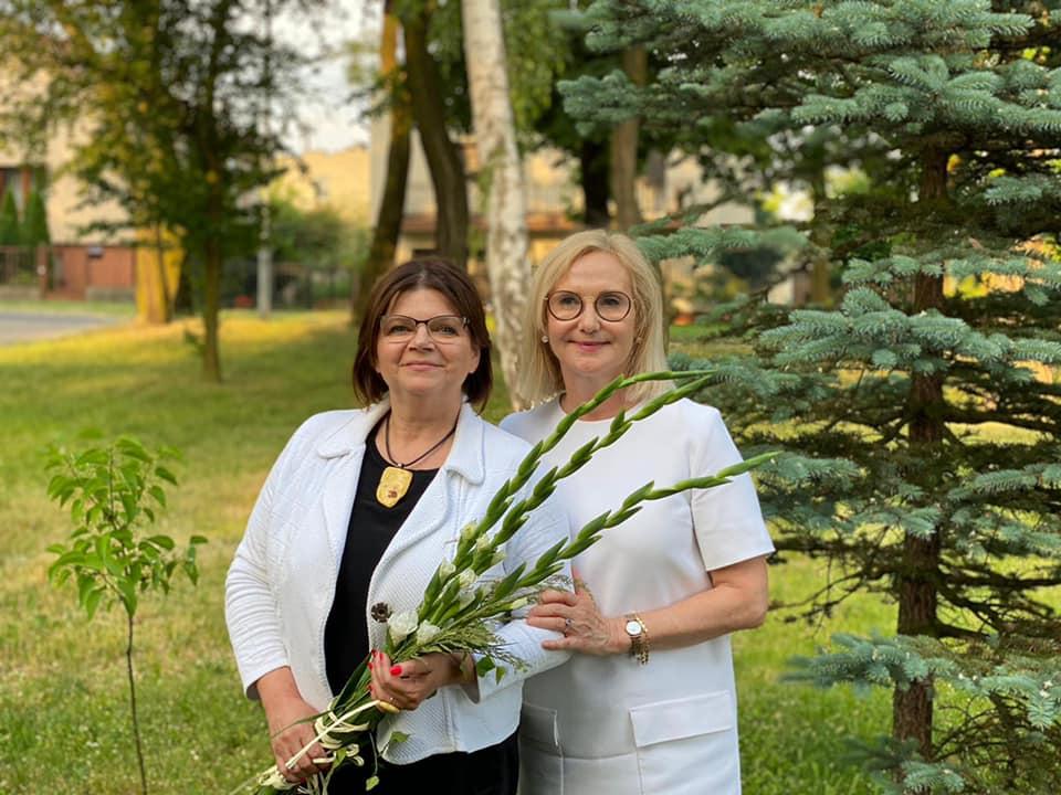 Rudę Śląską odwiedziła wiceprzewodnicząca Komisji Finansów Publicznych - Izabela Leszczyna